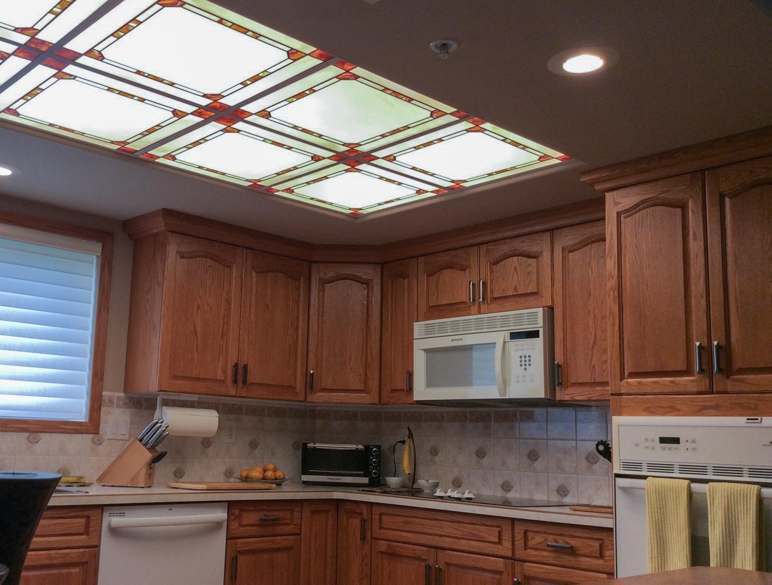 Stained Glass Light Panels How To Enhance Any Space With