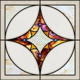 Stained-Glass-Ceiling-Panels: Stained Glass 10 Purple
