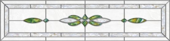Stained-Glass-Ceiling-Panels: Stained Glass 11 Green Pearl