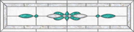 Stained-Glass-Ceiling-Panels: Stained Glass 11 Marine Aqua Pearl