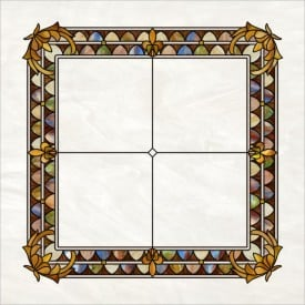 Stained-Glass-Ceiling: Tiffany Style Pearl