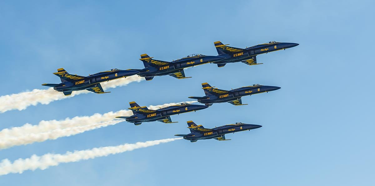 Skyview 46 Blue Angels Fluorescent Light Covers