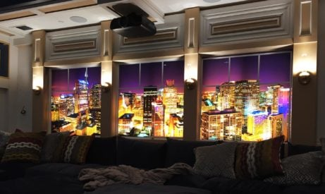 Backlit Wall Mural Photo Applications