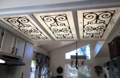 Decorative Fluorescent Light Covers & Diffusers | Ideas ...
