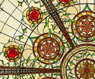 A Virtual Stained Glass Dome Ceiling!