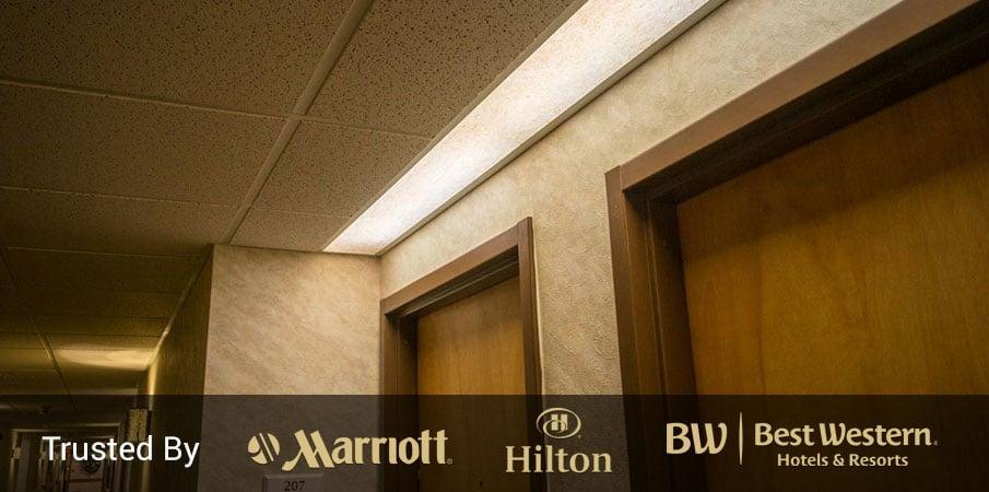 Light Panels Ideal For Hotel Fluorescent Led Lighting