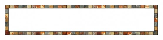 Stained-Glass-Ceiling-Panels: Stone Marble White