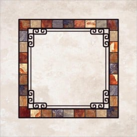 Stained-Glass-Ceiling-Panels: Stone Marble
