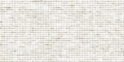 Tan and white open weave fluorescent light covers that simulates cloth