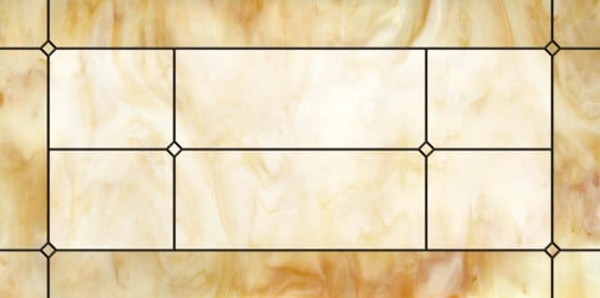 Stained-Glass-Ceiling-Panels: Marbled Glass Amber 123
