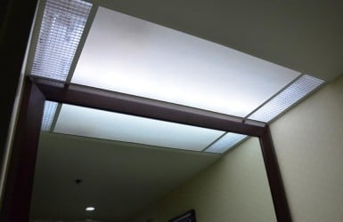 Commercial Light Panel Installation