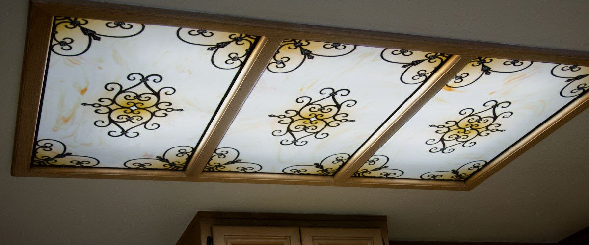 Decorative Light Panel Covers Amp Diffusers Fluorescent